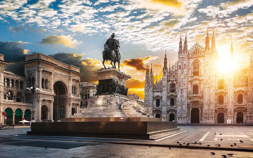Alitalia - Promotivna akcija za putovanja u biznis klasi oktobar 2017 Milano