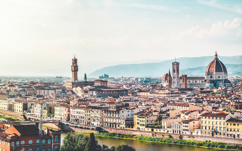 Alitalia promotivna akcija za Italiju avgust 2017 Firenca