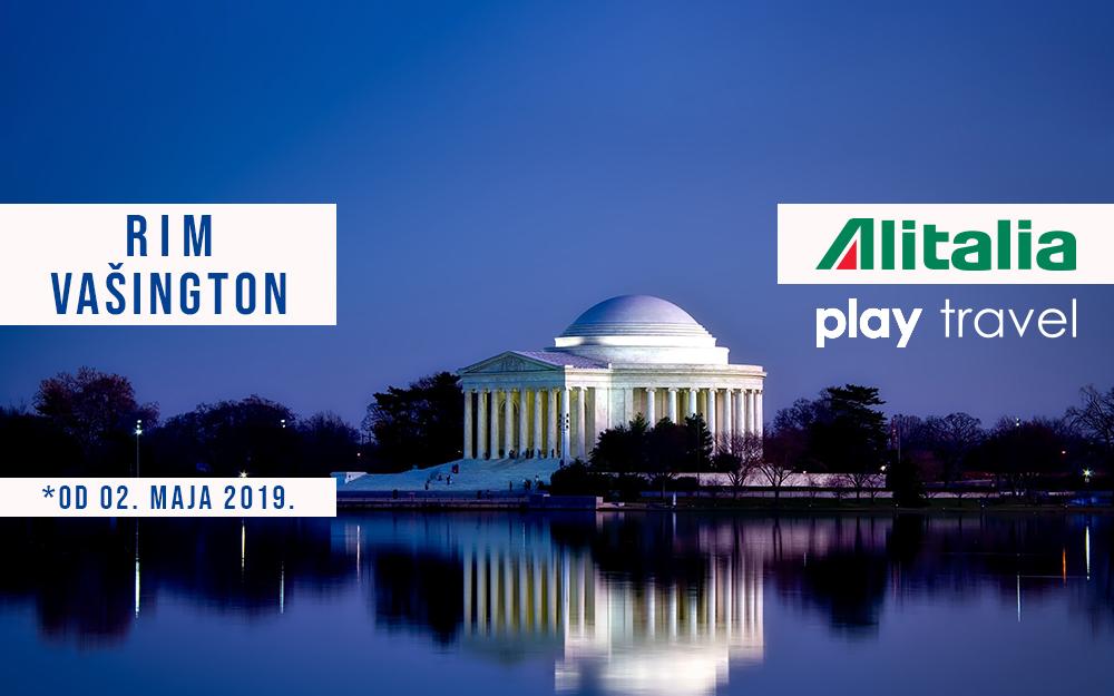 Alitalia uvodi letove za Vašington