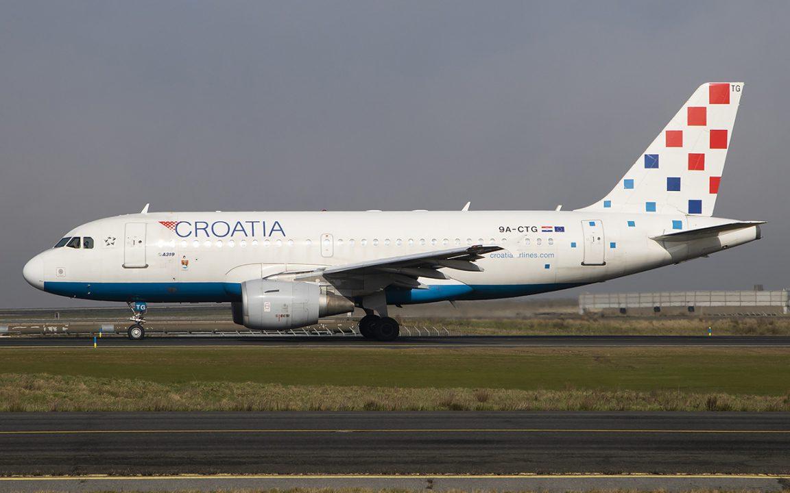 Croatia Airlines privremeno obustavlja letove iz Splita, Dubrovnika i Rijeke