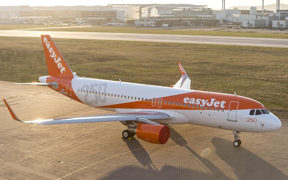EasyJet povoljne avio karte za putovanja do septembra 2018