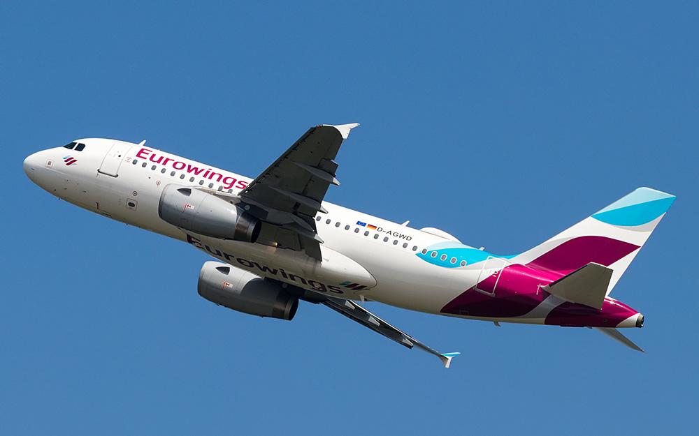 Eurowings - 20% popusta na letove