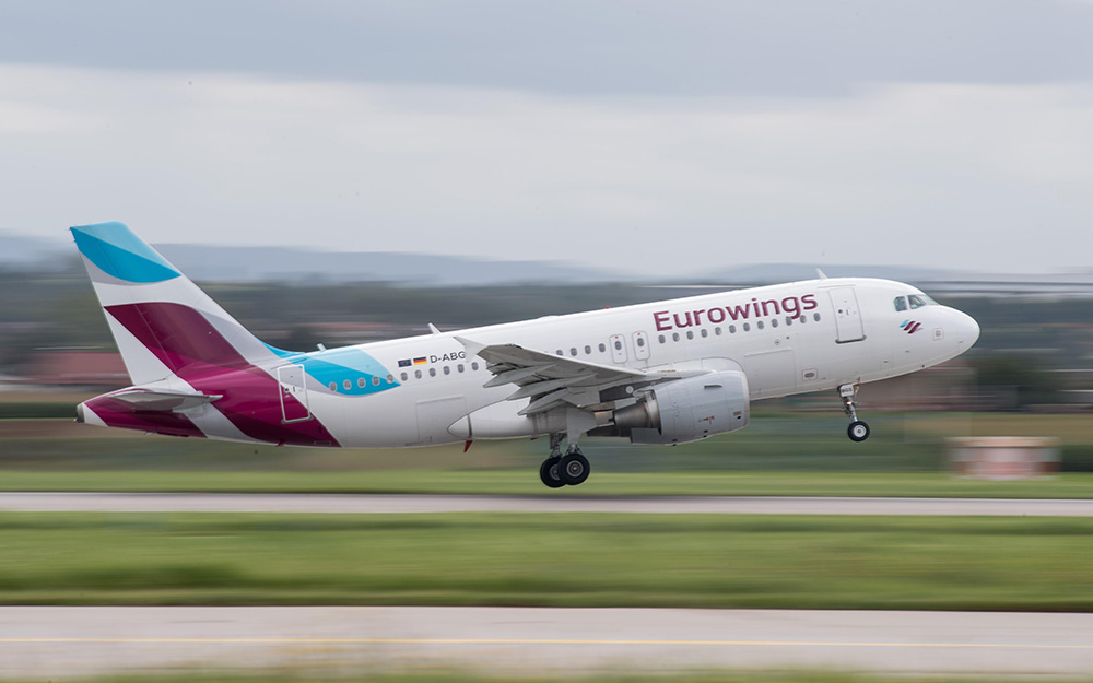 Eurowings - Pokrenuti letovi između Tivta i Štutgarta
