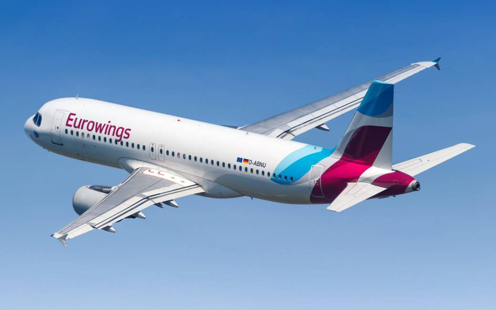 Eurowings - 25% popusta za određene letove