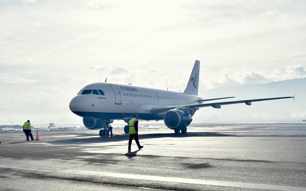 FlyBosnia - Prvi avion sleteo u Sarajevo