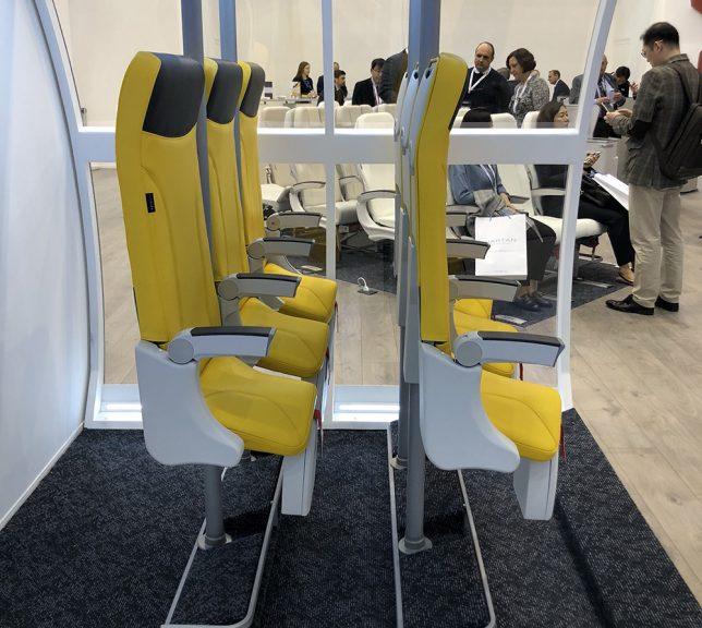 Italijanska avio kompanija predstavila sedišta za stajanje tokom letova 2