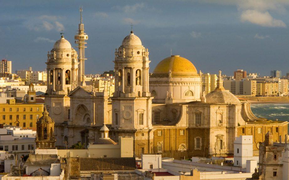 Resultado de imagen de katedrala sa zlatnom kupolom cadiz