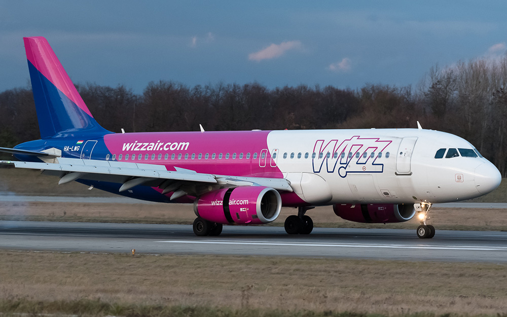 Koja je veličina besplatnog prtljaga Wizz Air