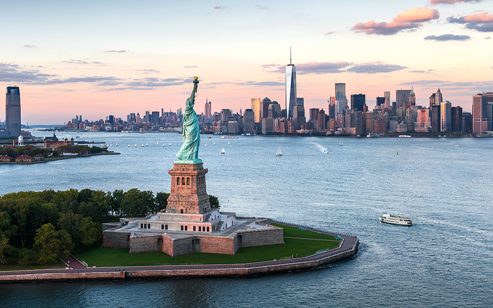 Lufthansa - Povoljne avio karte za Severnu Ameriku avgust 2018 Kip slobode Njujork New York