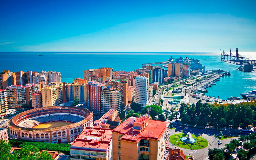 Malaga – sunce Andaluzije