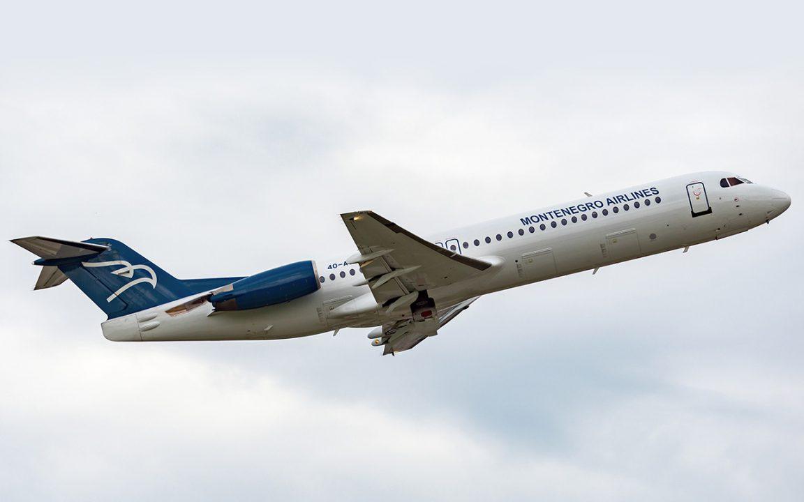 Montenegro Airlines - Od 12 juna letovi na određenim linijama