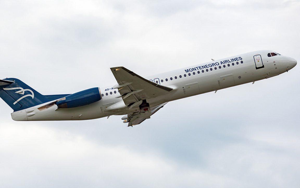 Montenegro Airlines privremeno obustavio sve letove