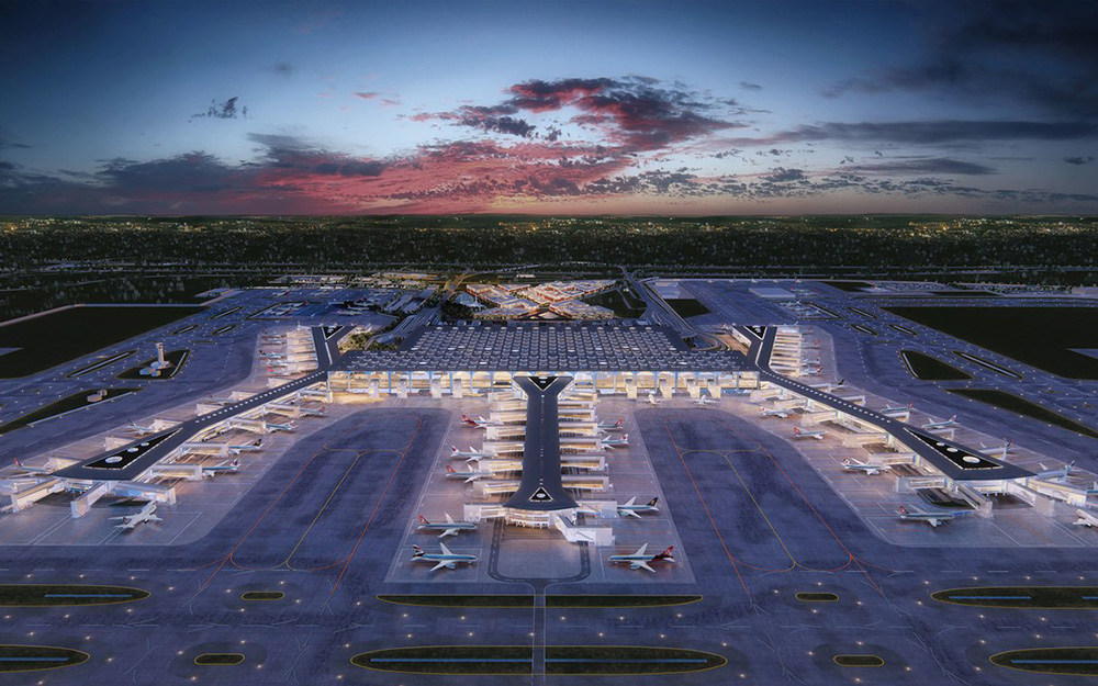 Novi aerodrom Istanbul Turkish Airlines