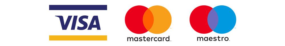 Platne kartice Viza Mastercard Maestro
