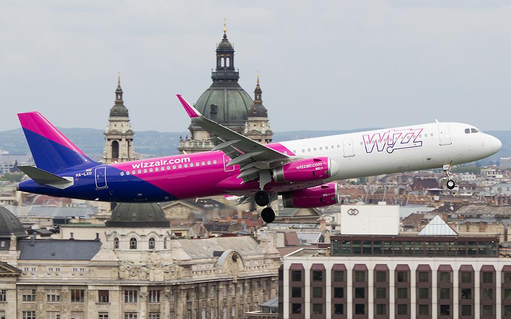 Prevoz Budimpesta aerodrom Wizz Air
