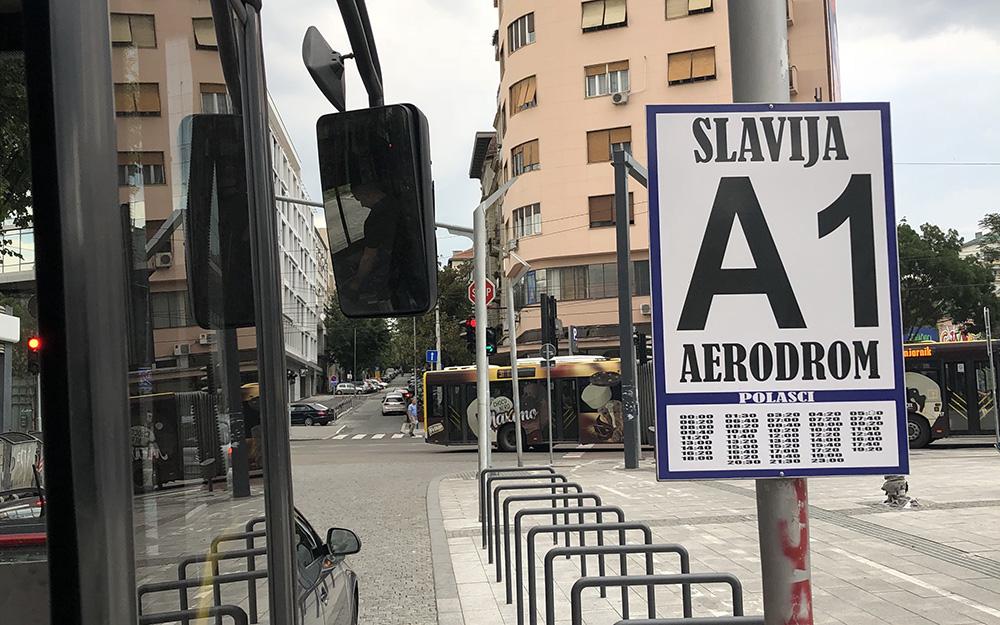 Prevoz do aerodroma A1 Autobus Beograd