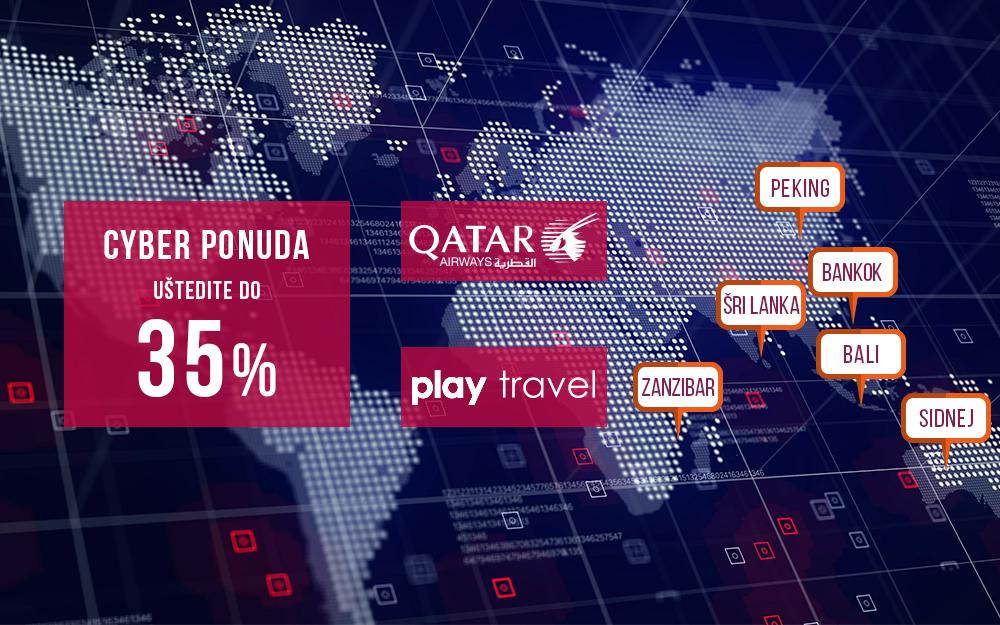 Qatar Airways - Cyber ponuda za Afriku, Aziju i Australiju 2018