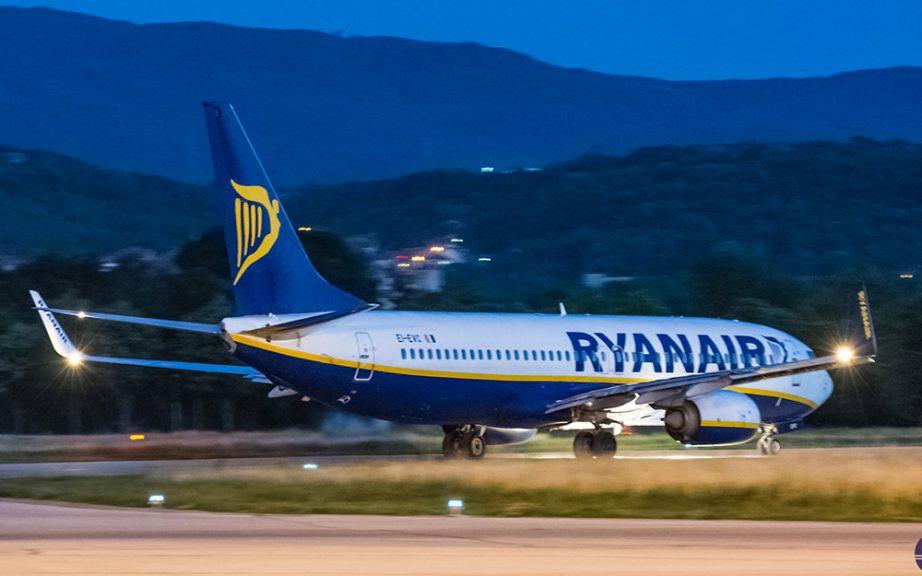 Ryanair želi da pokrene nove letove iz Crne Gore