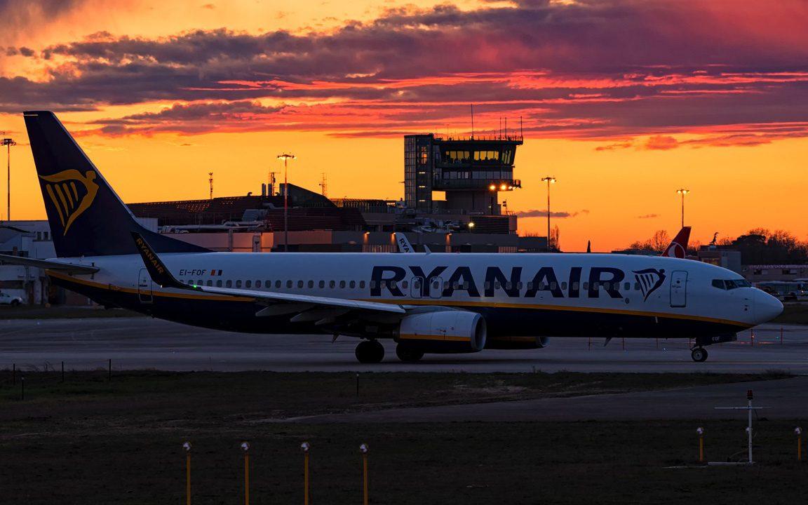 Ryanair prodaja avio karata Niš Stokholm