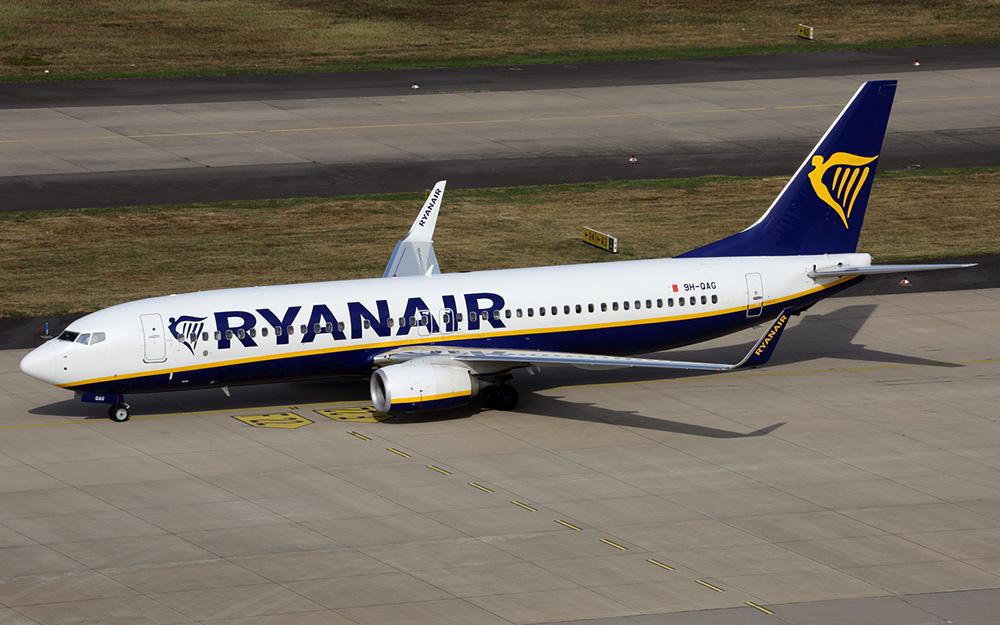 Ryanair uvodi letove iz Niša za Frankfurt Hahn