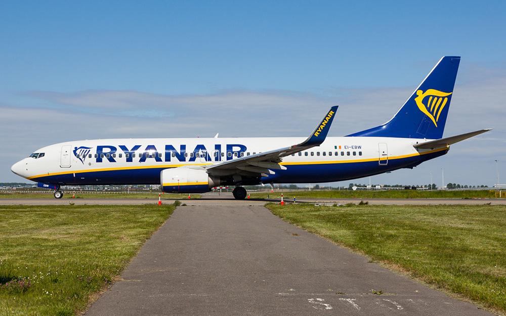 Ryanair uvodi liniju Podgorica Dablin