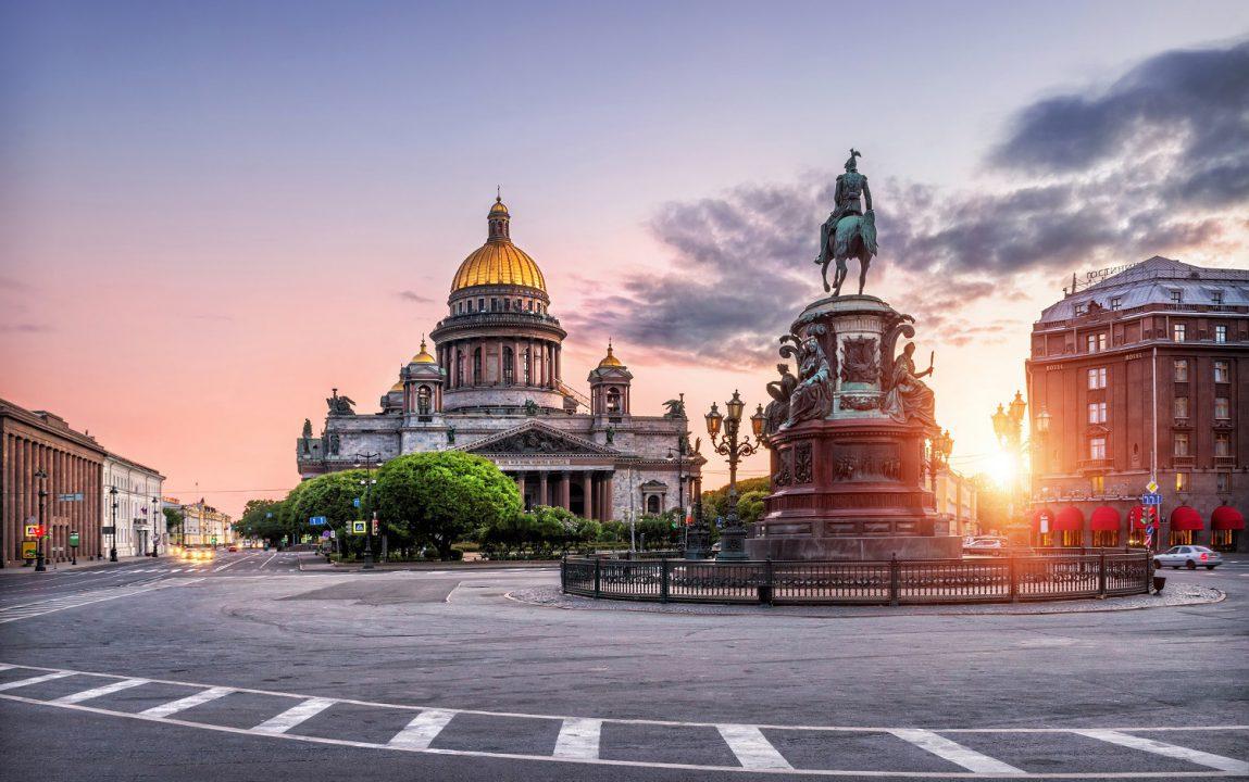 Sankt Peterburg za Dan zaljubljenih