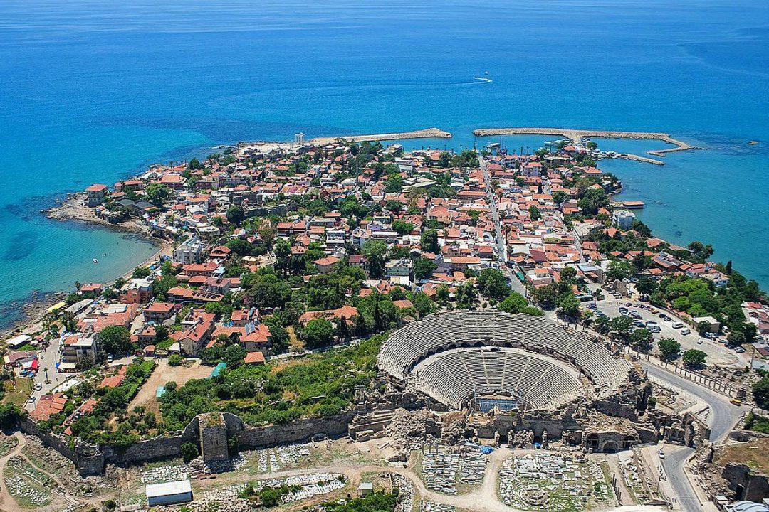 Side Turska grad putovanje