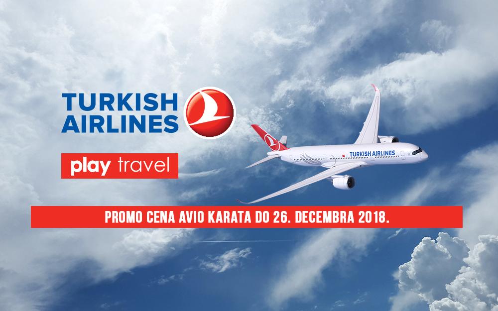 Turkish Airlines - Novogodišnja promotivna akcija 2018