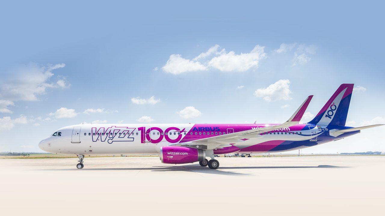 Wiizz Air flota sada broji više od 100 aviona