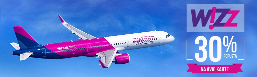 Wizz Air Popusta na avio karte Black Friday