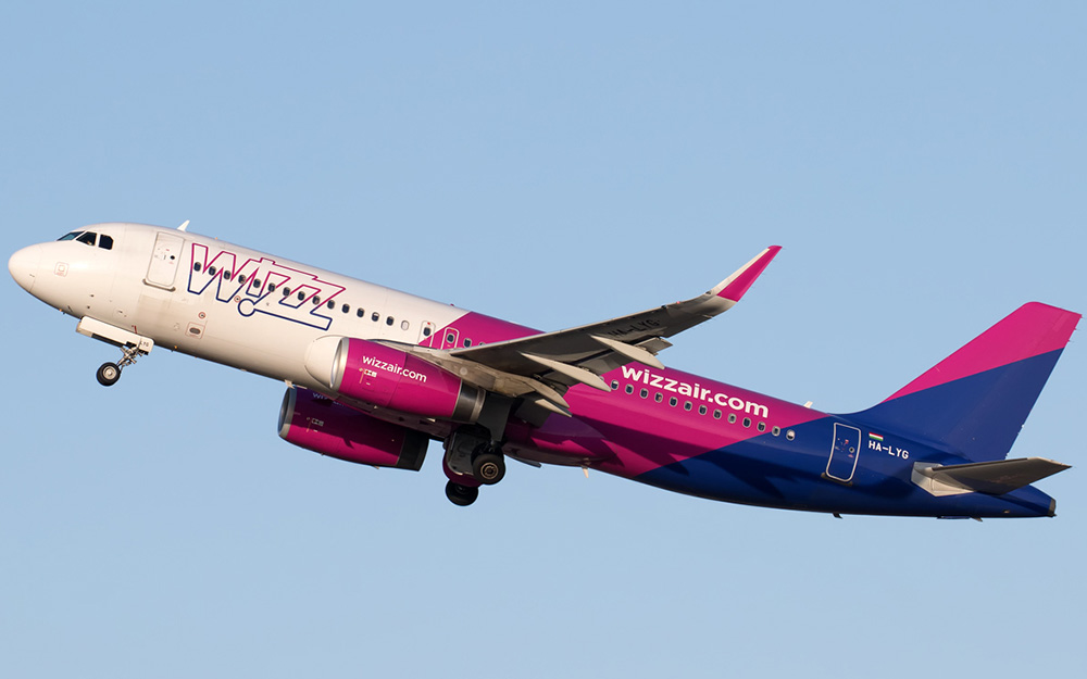 Wizz Air danas pokreće tri nove linije iz regiona