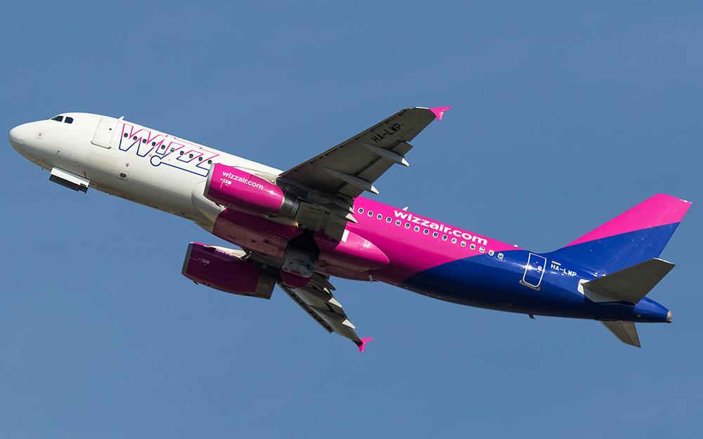 Wizz Air povećava broj letova iz regiona 2019
