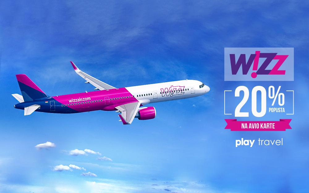 Wizz Air promotivna akcija popust na avio karte