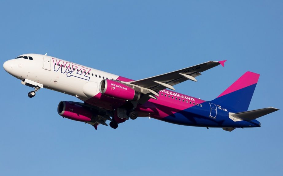 Wizz Air uspostavlja dve nove linije iz Podgorice